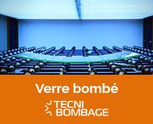 Verre bombé - Tecni Bombage